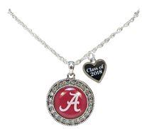 Custom Alabama Crimson Tide Choose Year Class of 2017-2025 Graduation Necklace
