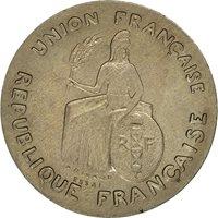 Coin, New Caledonia, Franc, 1948, Paris, MS(60-62), Nickel-Bronze, KM:E3