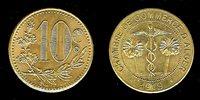 Algeria CDC 10 centimes 1919 Pattern issue BU+