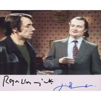 BROADBENT Jim PACK Roger Lloyd Only Fools and Horses Signed Photo 896F UACC COA