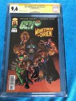 Gen 13/ Monkeyman and O'Brien #1 - Dark Horse - CGC SS 9.6 - Signed by Art Adams