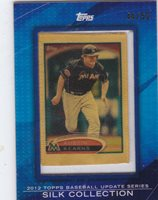 Austin Kearns 2012 Topps Update Silk Collection 44/50