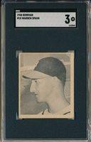 1948 BOWMAN #18 WARREN SPAHN ROOKIE - SGC 3 VG (SVSC)
