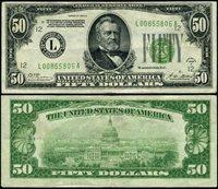 FR. 2101 L $50 1928-A Federal Reserve Note San Francisco L-A Block XF DGS