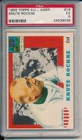 1955 TOPPS ALL AMERICAN #16 KNUTE ROCKNE - PSA 5 - EX (SVSC)