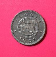 ANGOLA (PORTUGAL) 5 CENTAVOS 1923, Bronze [#EA28]