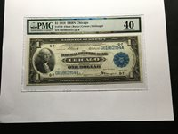 Larhe Currency Fr729 FRBN Chicago XF 40 PVC Comments