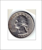 1994-P Washington Quarter - VERY SCARCE...Never in Change