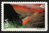 USA Sc. C134 40c Rio Grande 1999 MNH