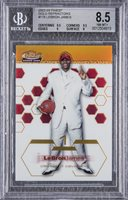 2002-03 Topps Finest Gold Refractor #178 LeBron James Rookie Card (#22/25) – BGS NM-MT+ 8.5