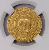 NGC-AU55 1863 THAILAND RAMA IV 8BAHT GOLD RARE TYPE