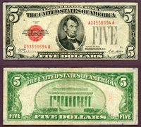 1928 $5 FR-1525