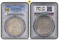 Piastre Indo China 1906 UNCIRCULATED PCGS # A28