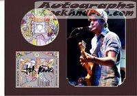 Jack Penate - autographed cd sleeve #507