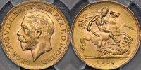 1930 Pretoria Sovereign - PCGS MS64 1930 Pretoria Sovereign