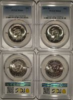 2019 P & D Kennedy Half Dollar 2 Coin Set 50c PCGS MS66