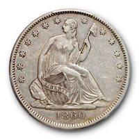 1860-O 50C XF45 PCGS