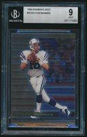 1999 Bowman's Best #70 Peyton Manning BGS 9 Mint