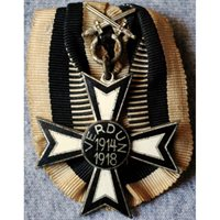 WWI German Veteran's Verdun Commemorative Cross