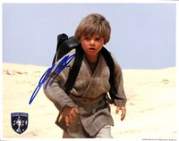 JAKE LLOYD STAR WARS EP 1 AUTOGRAPHED SIGNED 8x10 OPX OFFICIAL PIX SHIELD W/HOLO