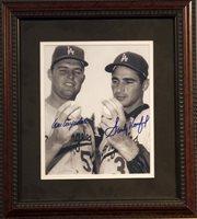 Sandy Koufax & Don Drysdale Autographed Photo