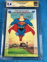 Superman For All Seasons 1 - DC - CGC SS 9.4 NM - Signed by Tim Sale