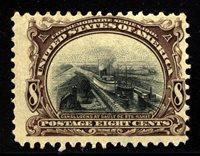 US Scott 298 Pan American Expo Mint NH $250.00
