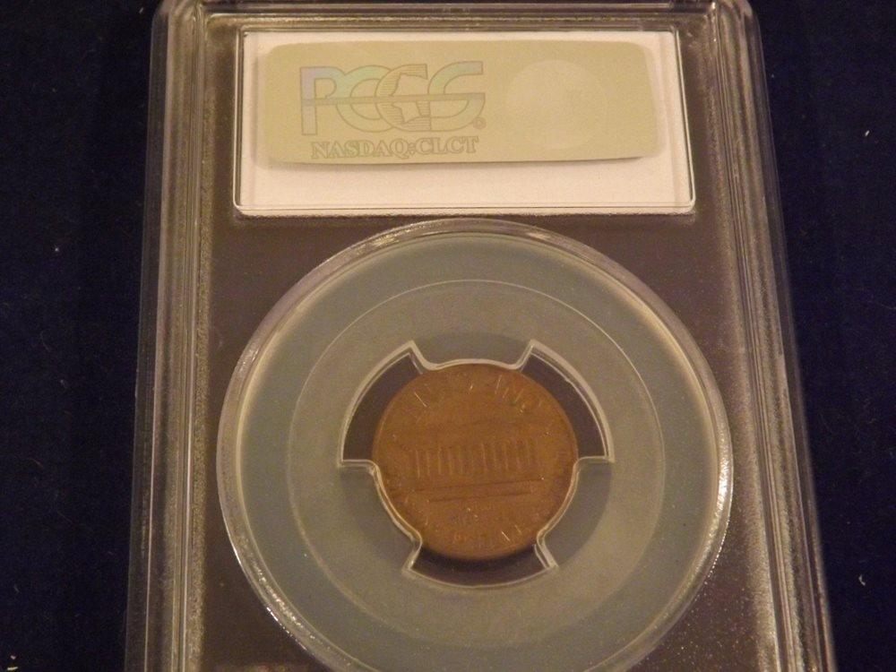1968-D Penny DDR PCGS AU 58, AU58BN - PCGS Auction Prices