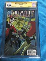 Batman Gotham Adventures #29 - CGC SS 9.6 -Sig by Rousseau, Staton -Harley Quinn