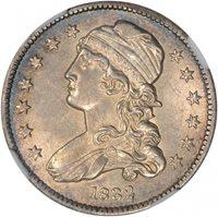 $0.25 1832 Bust 25c Quarter - NGC MS61 PQ