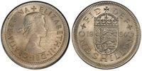 BRITAIN Elizabeth II. 1964 Cu-Ni Shilling. PCGS MS65 Mint Error SCBC-4147