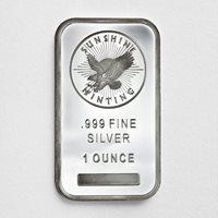 1 oz Silver Bar – Sunshine Mint – SMI (Sealed)1 oz Silver Bar – Sunshine Mint – SMI (Sealed)1 oz Silver Bar – Sunshine Mint – SMI (Sealed)