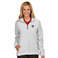 "NWT FC Dallas Ladies ""Ice"" Polar Fleece Full Zip Jacket White Small Womens"