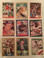 20 Chicago White Sox Baseball Cards - All Cards at least $1 Beckett Value