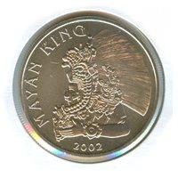 2002 Belize 1 Dollar (BU)2002 Belize 1 Dollar (BU)