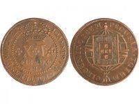 Pièce Brésil 40 Reis Jean VI - Armoiries