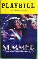 Playbill Summer The Donna Summer Musical LaChanze Ariana DeBose Storm Lever 2018