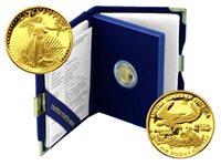 USA 1990 Eagle 1/10 oz Gold Proof Coin