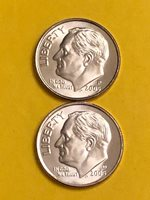 DIME 2005PD UNC FREE SHIPPING