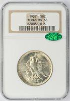 1937 Commemorative Half Dollar Texas NGC MS-65 CAC