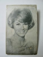 Phyllis McGuire Picture Card
