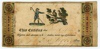"""Reward Of Merit Certification ... H. & E . Phinney. Printers . 1830""""S Memorabibl"""