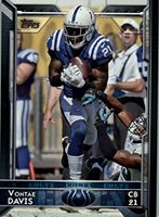 ea918eece 2015 Topps  169 Vontae Davis - Indianapolis Colts (NFL Football Cards)