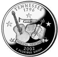 2002-S Tennessee State Quarter