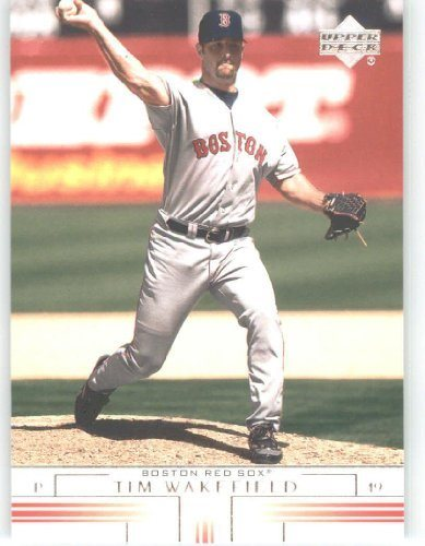 2002 Upper Deck Baseball Card 173 Tim Wakefield