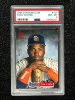 1994 Stadium Club Tony Gwynn #151 Baseball Card San Diego Padres PSA 8 NM-MT
