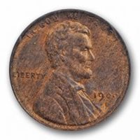 1909 S VDB 1C Lincoln Wheat Cent PCGS MS 64 BN Uncirculated Key Date Cert#6685