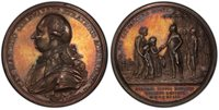 INDIA. Cornwallis. 1793 AR Medal. PCGS SP62. BHM 363. Defeat of Sultan Tipoo