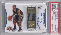 2008 SP Authentic #139 Russell Westbrook Signed Patch Rookie Card (#239/299) – PSA GEM MT 10