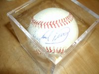 Gaylord Perry Signed Baseball - With COA
